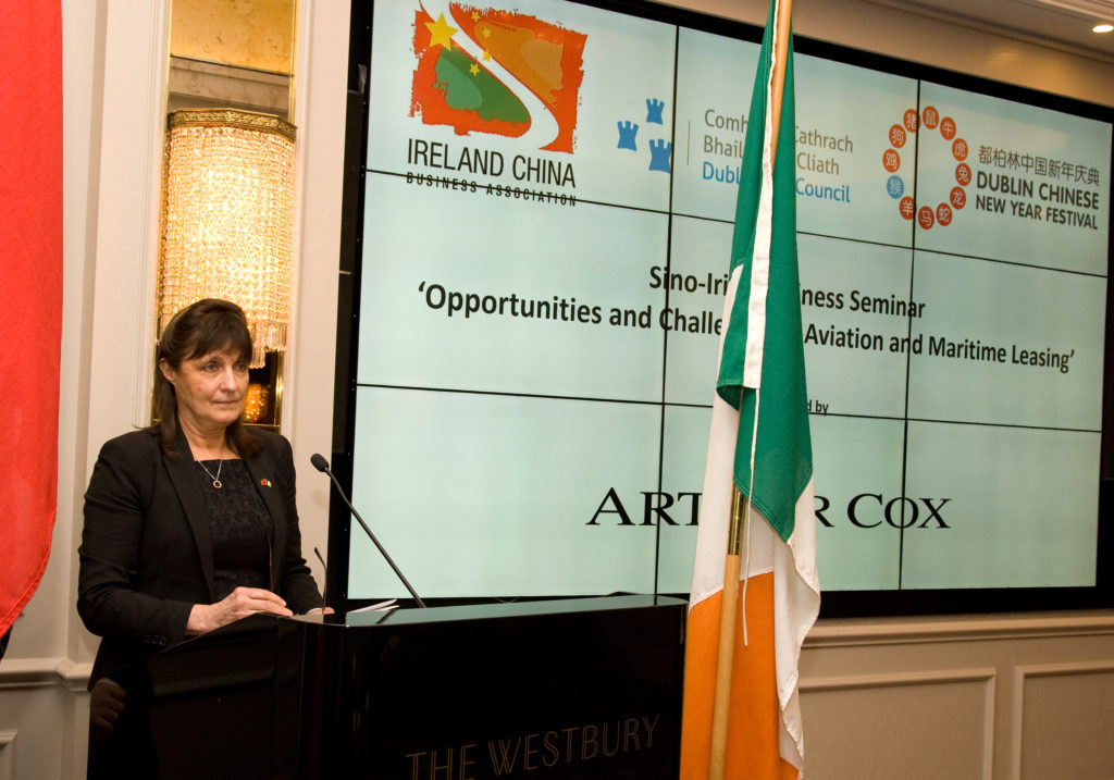 Ms Susan Barrett (Chairperson), opening the seminar