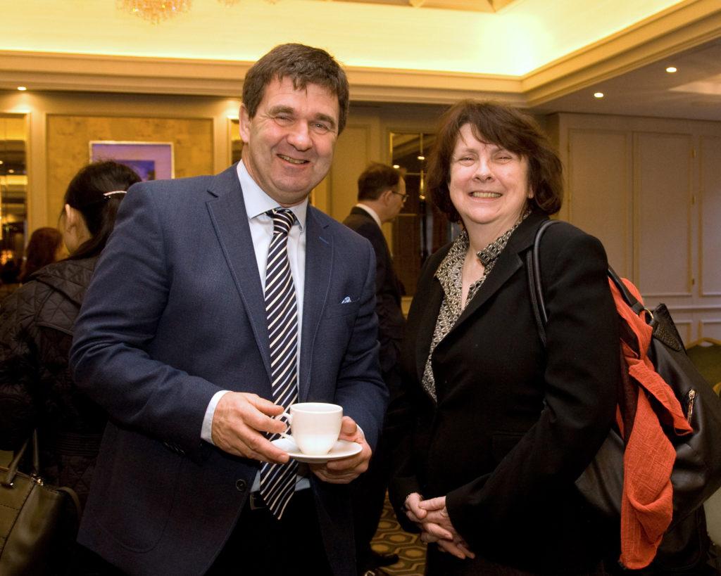 Mr Ivan Heffernan and Ms Mary Ruane (UCC)