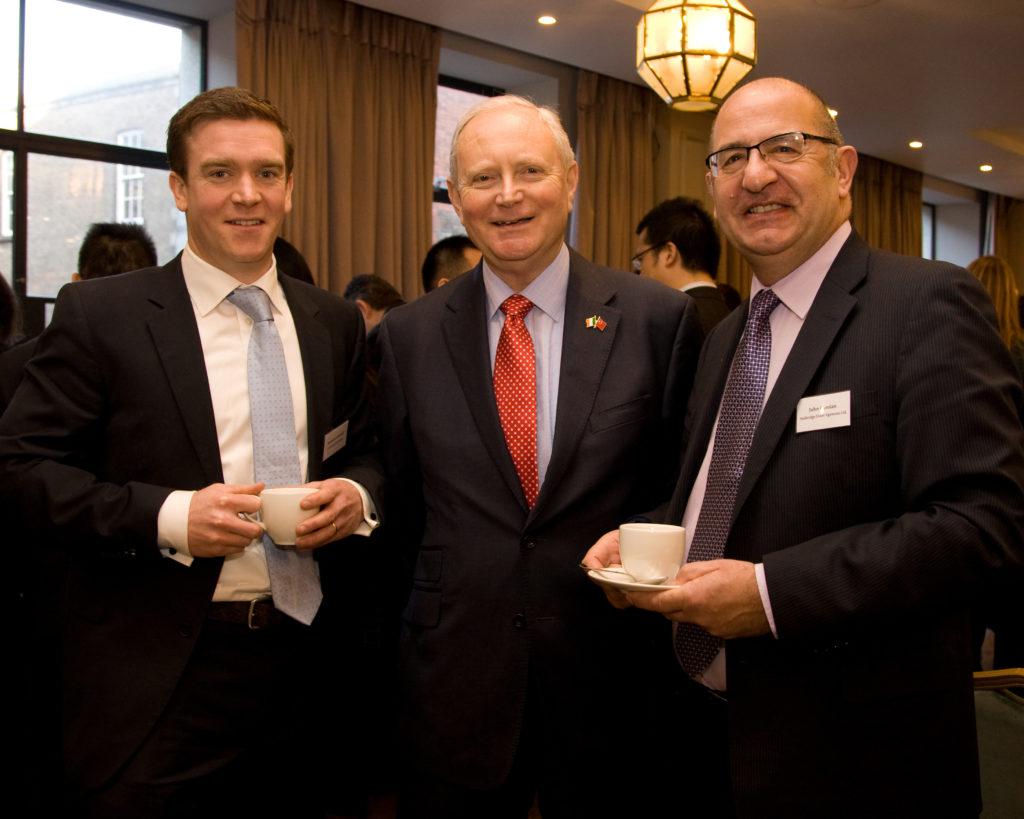 Mr Stewart O'Connell (Universal Innovations), Mr Ken Duggan (Chinaportal) and Mr John Carolan (Seabridge Liner Agencies)