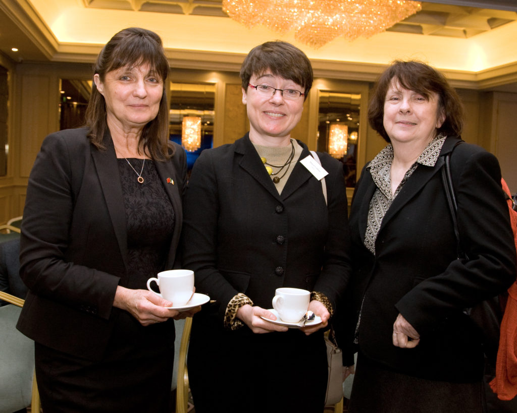 Ms Susan Barrett (Chairperson), Ms Maeve Collins (DFA), Ms Mary Ruane (UCC)