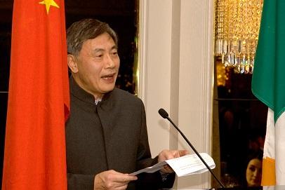 H.E. Mr Jiango Xu, Chinese Ambassador to Ireland